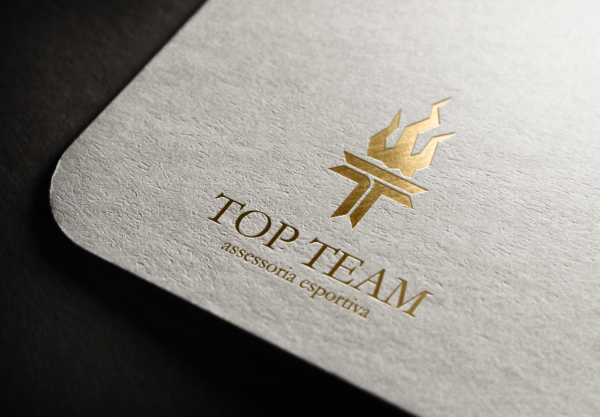 Top Team  – Cartão Hot Stamp